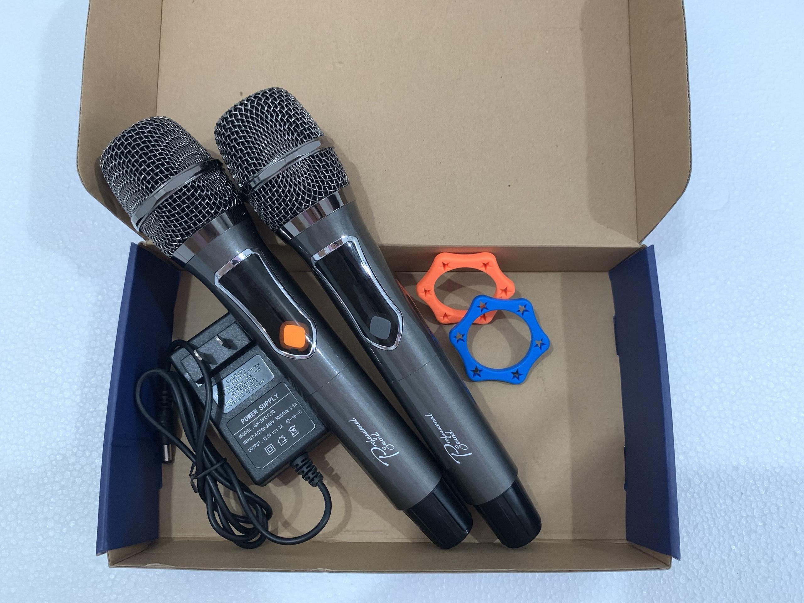 """Loa Xách Tay """"PROSING W8 (PROSING ALISA)"""" Karaoke di động – Micro UHF – SẢN PHẨM CHÍNH HÃNG"""