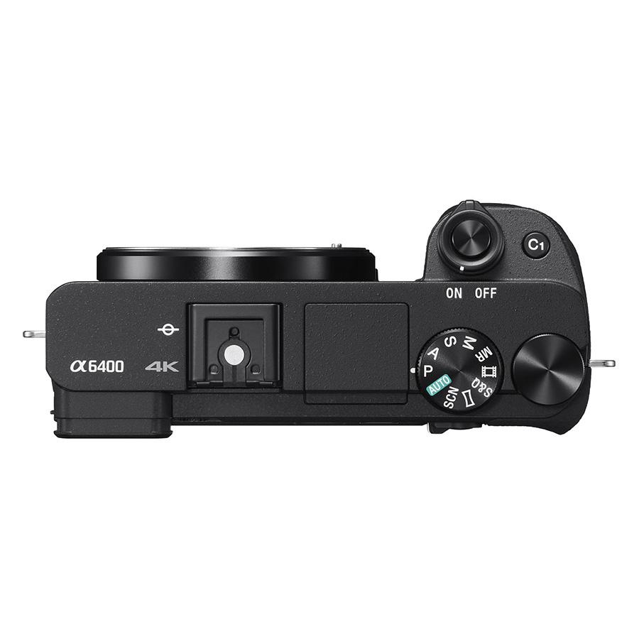 Máy Ảnh Sony Alpha A6400 Body + Lens 16-50mm (Black) - Hàng Chính Hãng