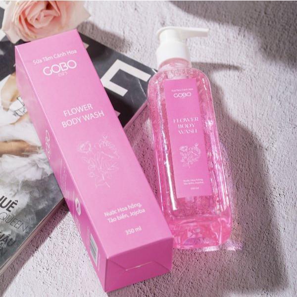 Sữa tắm cánh hoa hồng GOBO (350ml) - Sữa tắm | MuaDoTot.com