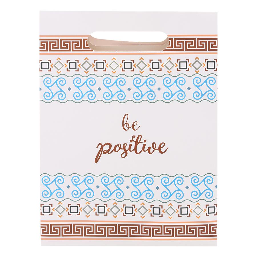 Combo 5 Túi Giấy Trung Nắp Phước Thịnh (Be Positive)