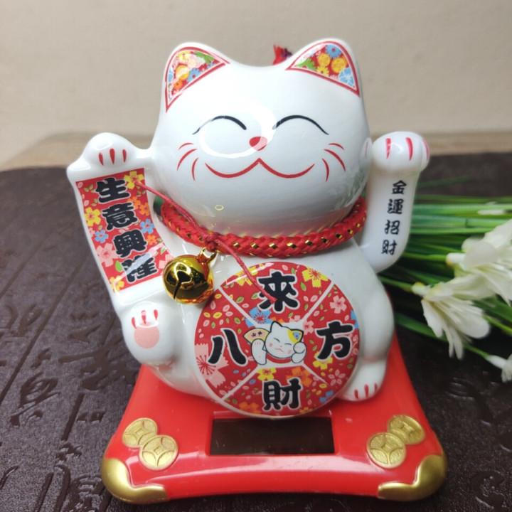 Mèo Thần Tài Vẫy Tay Neko
