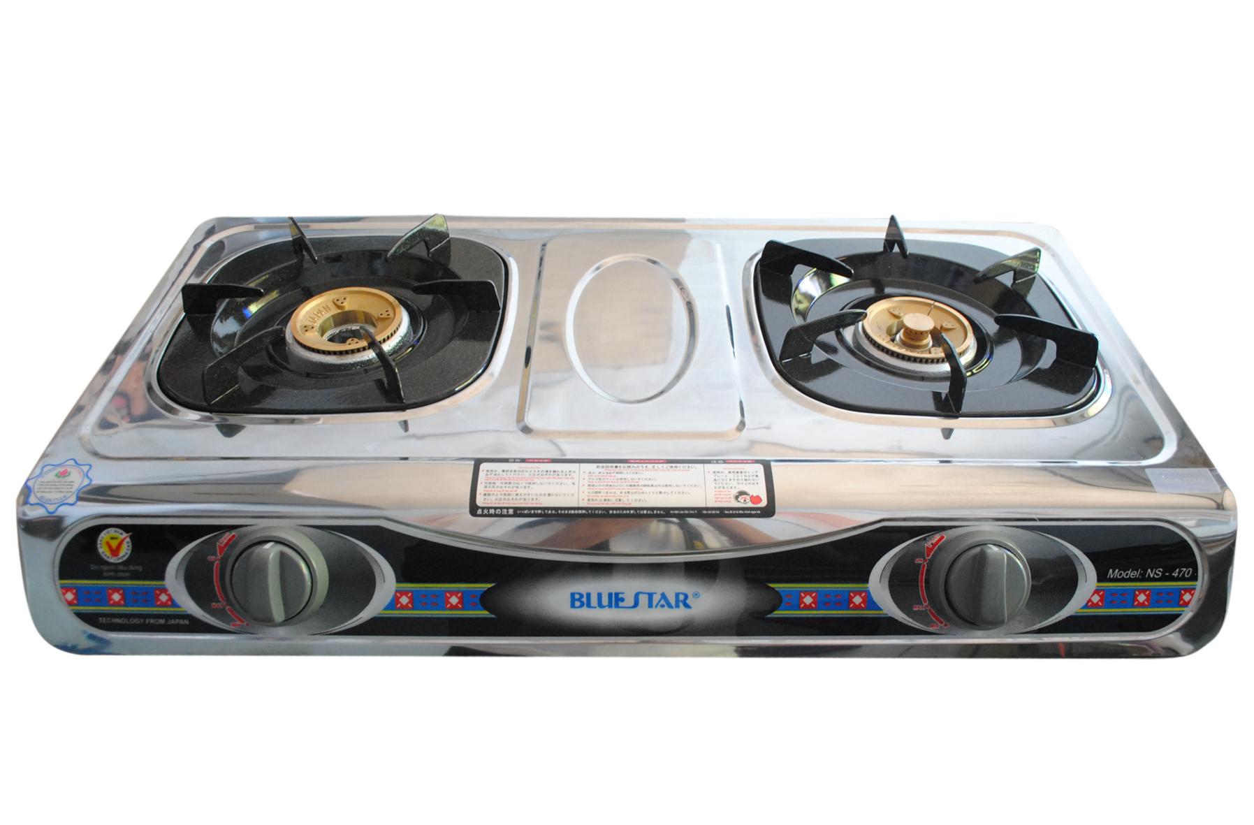 Bộ 2 kiềng bếp gas đa năng, sử dụng cho tất cả các dòng bếp gas mặt inox phổ thông