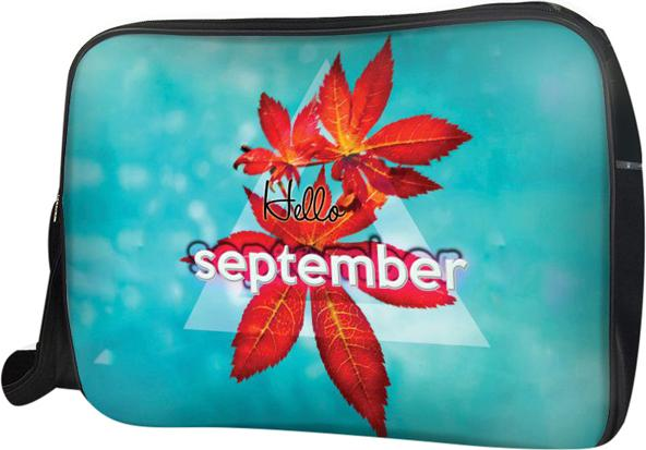 Túi Đeo Chéo Hộp Unisex Hello September - TCTE043 34 x 9 x 25 cm