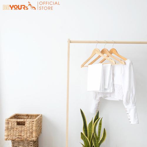 Hình ảnh Giá Treo Quần Áo Gỗ Thanh Đơn Single Hanger Size L Nội Thất Kiểu Hàn BEYOURs - Gỗ Tự Nhiên