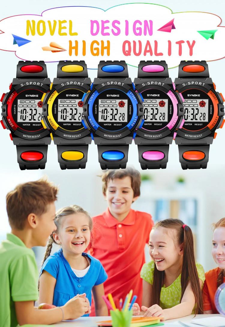 Đồng hồ trẻ em SYNOKE 99268 4