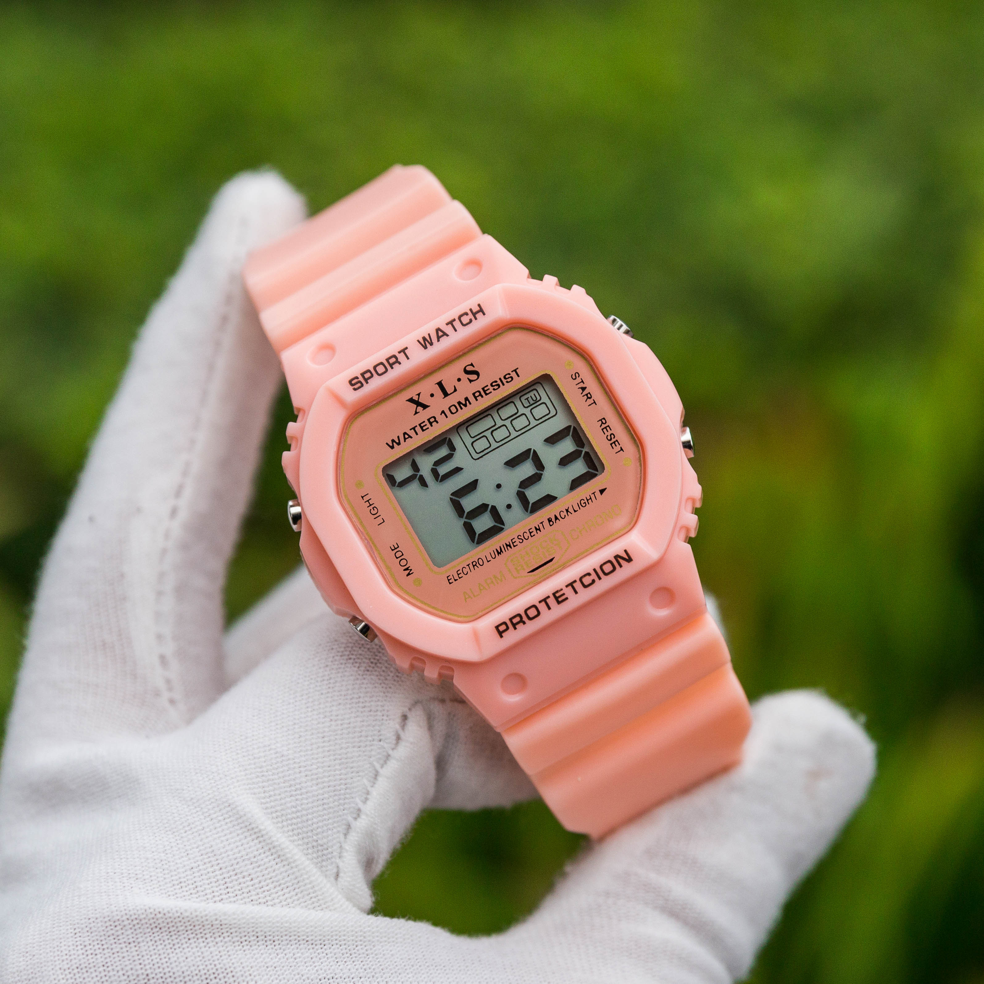 Đồng hồ điện tử thể thao UNISEX - Dây đeo silicone phong cách cực cool - WA04