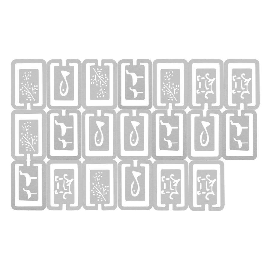 Bộ Đánh Dấu Sách Book Line Markers - Natural