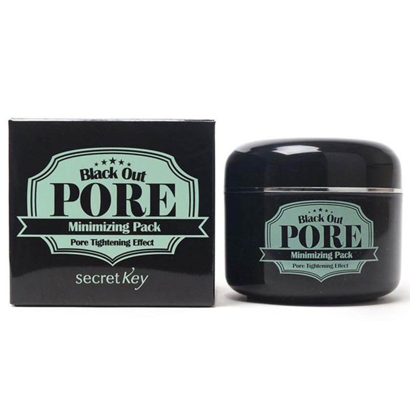Mặt nạ bùn khoáng làm sạch mụn đầu đen Secret Key Black Out Pore Minimizing Pack 100g