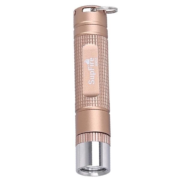 Đèn pin UV cường độ cao Supfire UV02 (Vàng Đồng)