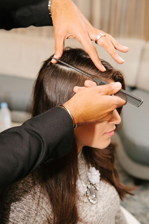 Bộ lược định hình ngôi tóc + tặng đà chà gót chân - Hàng nội địa Nhật