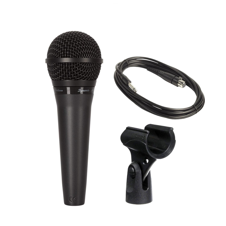 Mic Shure PGA58-QTR Có Dây Cầm Tay Hàng Chính Hãng USA Vocal Microphone Karaoke Micro PGA58 - Kèm Móng Gẩy DreamMaker