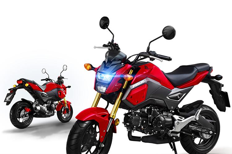 Xe Máy Honda MSX 125cc (Đỏ Ghi Đen)