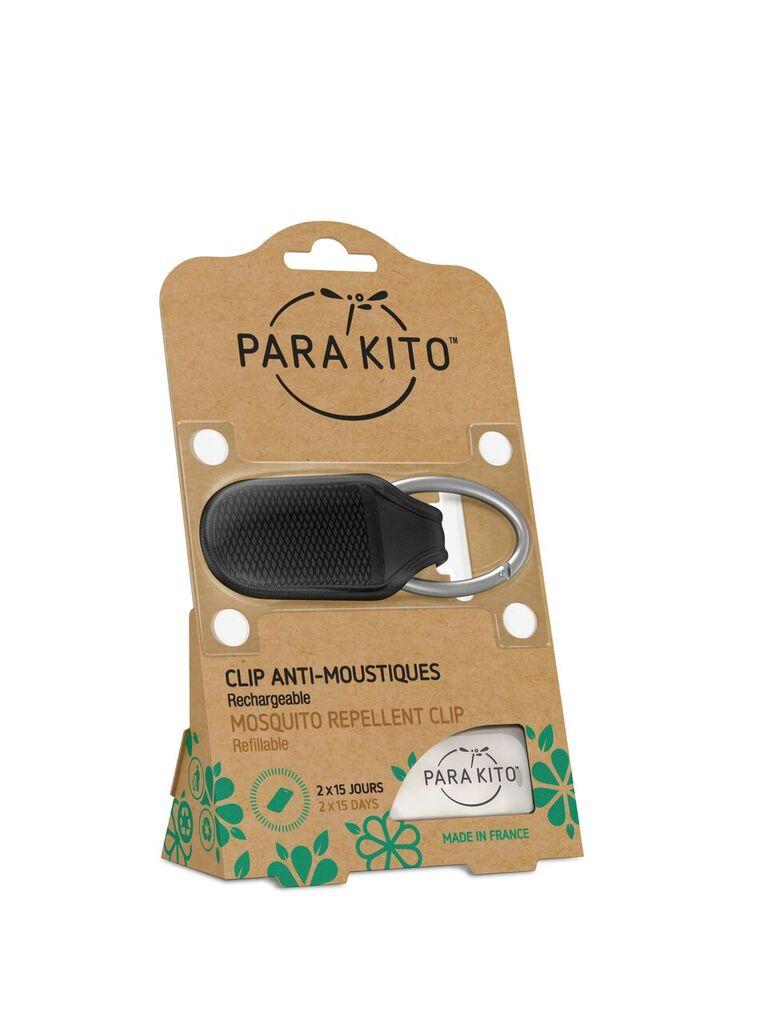 Bộ 2 Viên Chống Muỗi Para'kito™ Kèm Móc Cài màu đen