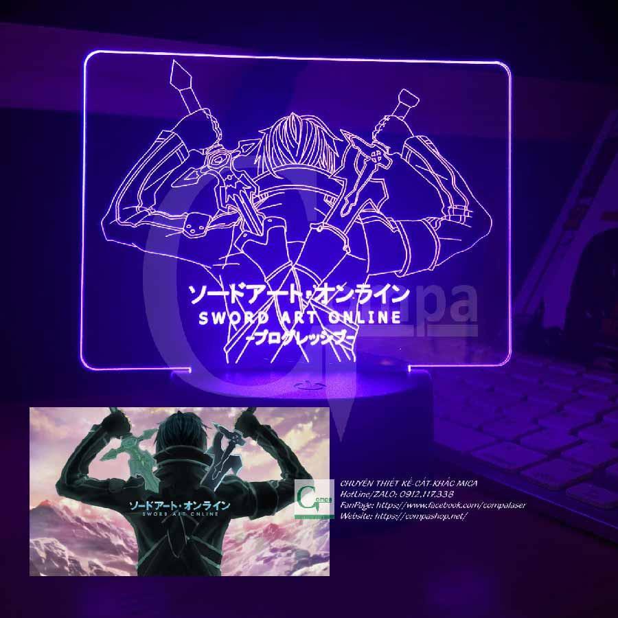 Đèn Ngủ Sword Art Online Kirito Type 01