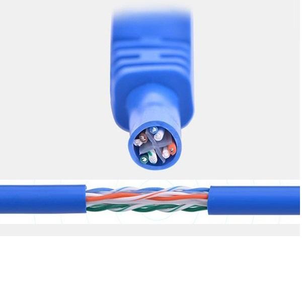 Cáp mạng đúc sẵn Cat6 2m Ugreen 11202 hàng chính hãng