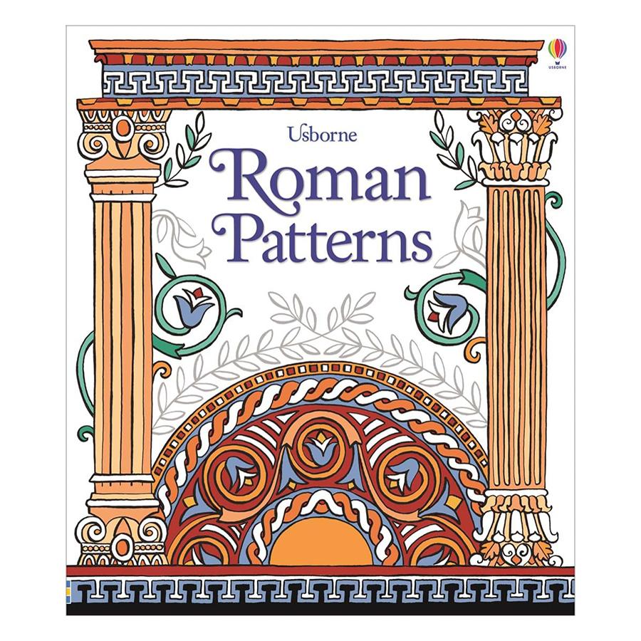 Usborne Roman Patterns to Colour