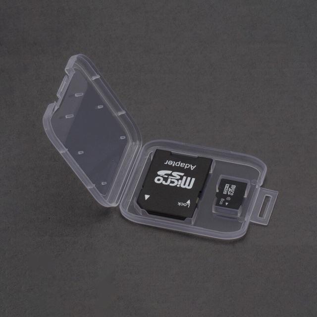 Hộp Nhựa Thẻ Nhớ MicroSD/SD