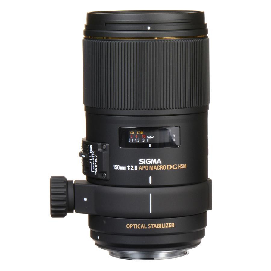 Ống kính Sigma 150 F2.8 APO MACRO EX DG OS HSM For Nikon - Hàng chính hãng