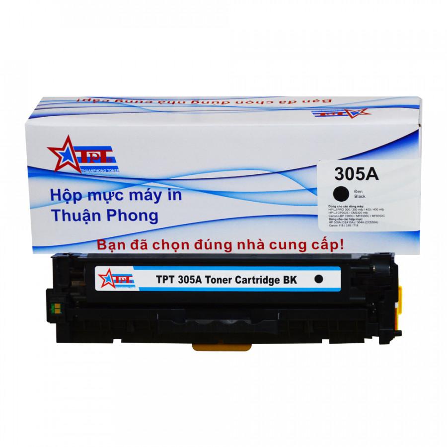 Hộp mực Thuận Phong 305A dùng cho máy in màu HP LJ PRO 300/ 400/ CP2025/ Canon LBP 7200C/ MF8330C - Hàng Chính Hãng