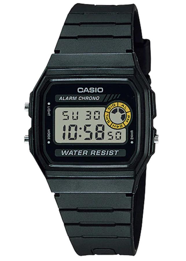 Đồng hồ unisex dây nhựa Casio F-94WA-8DG