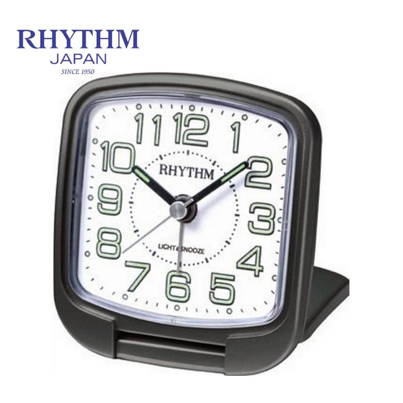 Đồng hồ báo thức Nhật Bản Rhythm CGE602NR02 - Kt 6.8 x 7.6 x 2.35cm, 45g