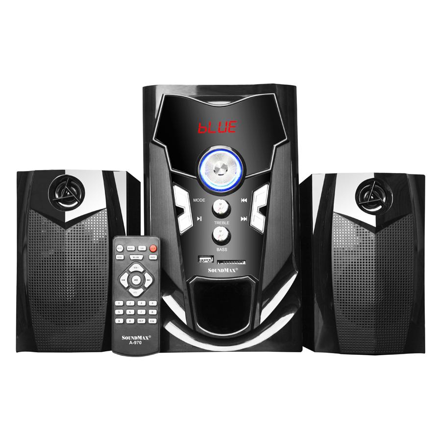 Loa Vi Tính Soundmax A-970/2.1 Tích Hợp Bluetooth 4.0 (40W) - Hàng Chính Hãng