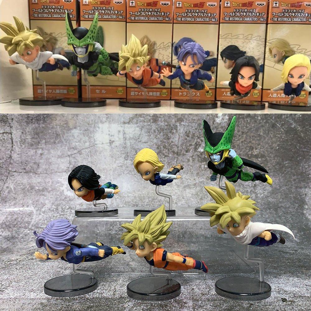 Mô Hình Dragon Ball - Set Nhân Vật Chibi (6 Hoặc 8 Nhân Vật)
