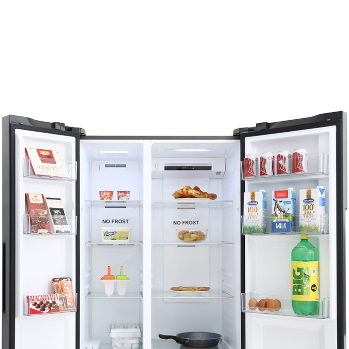 Tủ lạnh Aqua Inverter 541L AQR-S541XA(BL) - Chỉ Giao tại HCM