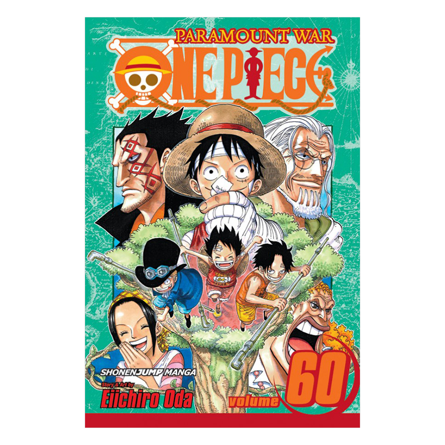 One Piece 60 - Tiếng Anh