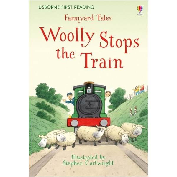 Usborne Woolly Stops the Train