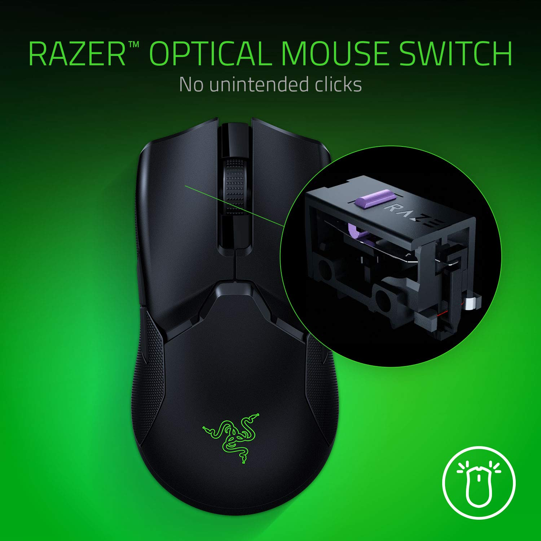 Chuột chơi game Razer Viper Ultimate Không Dây - Hàng Chính Hãng