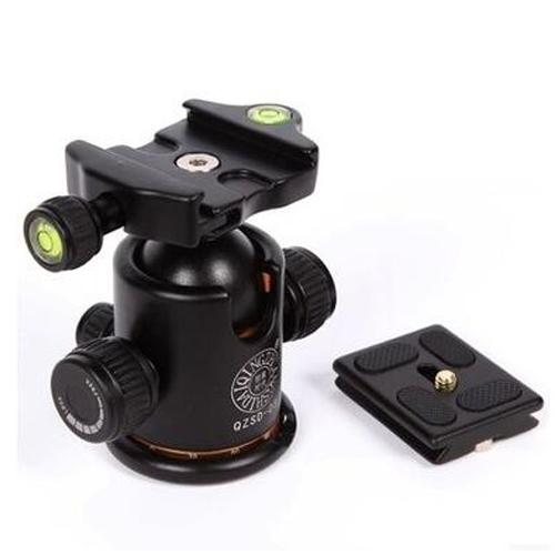 Đầu bi tripod ballheath Beike Q-03 cho chân máy ảnh - Hàng nhập khẩu
