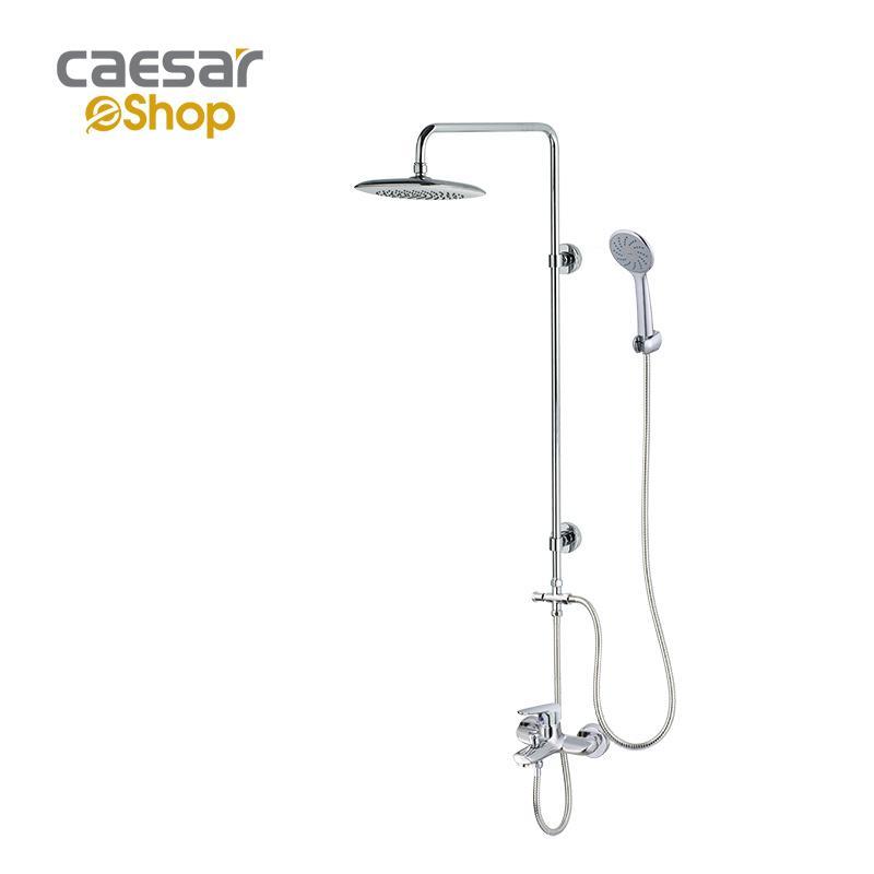 Sen nóng lạnh kết hợp bộ phụ kiện sen tắm đứng S123C - BS125