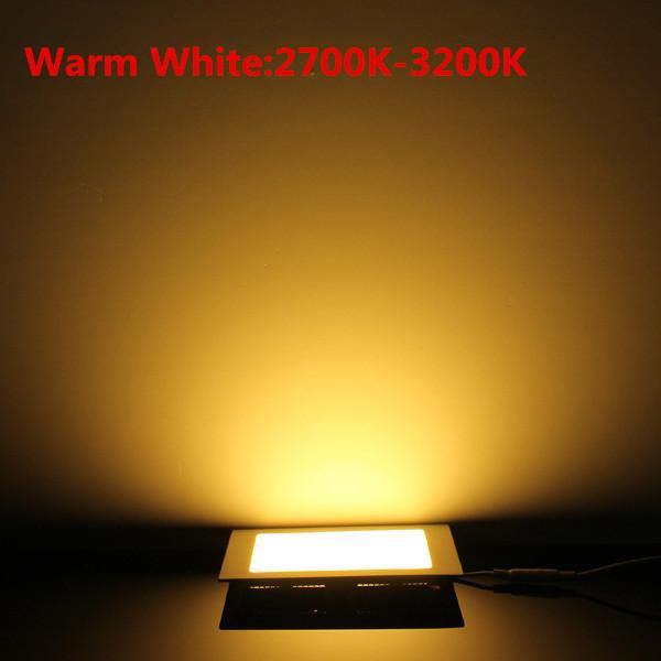 Đèn âm trần 12W vuông sáng vàng SM-V-12