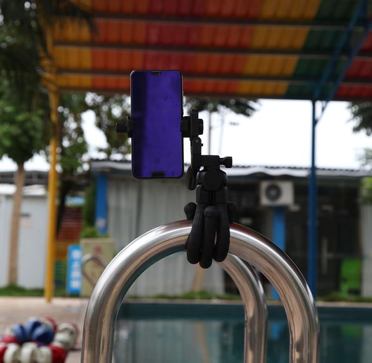 Chân đế tripod bạch tuộc cho điện thoại và máy ảnh Yunteng VCT-3280 (Tặng gá kẹp điện thoại)-Hàng chính hãng