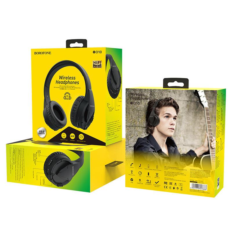 Tai Nghe Bluetooth Borofone BO10 (Màu ngẫu nhiên) - Hàng Chính Hãng