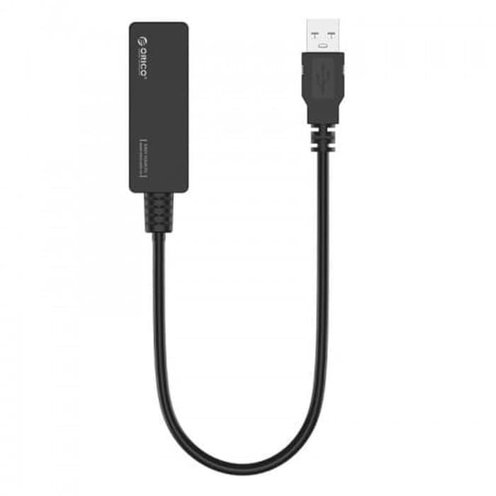 Bộ chuyển USB 2.0 sang cổng LAN. ORICO UTJ-U2(USB TO LAN) - Hàng Chính Hãng