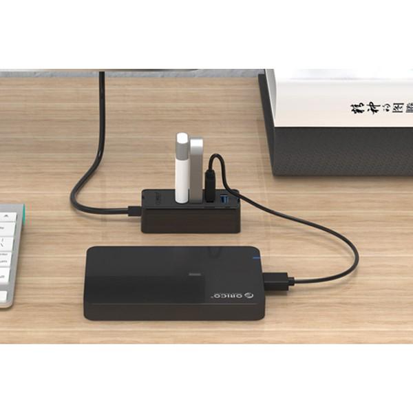 Bộ chia USB HUB 4 cổng ORICO W5P USB 3.0 - Hàng chính hãng
