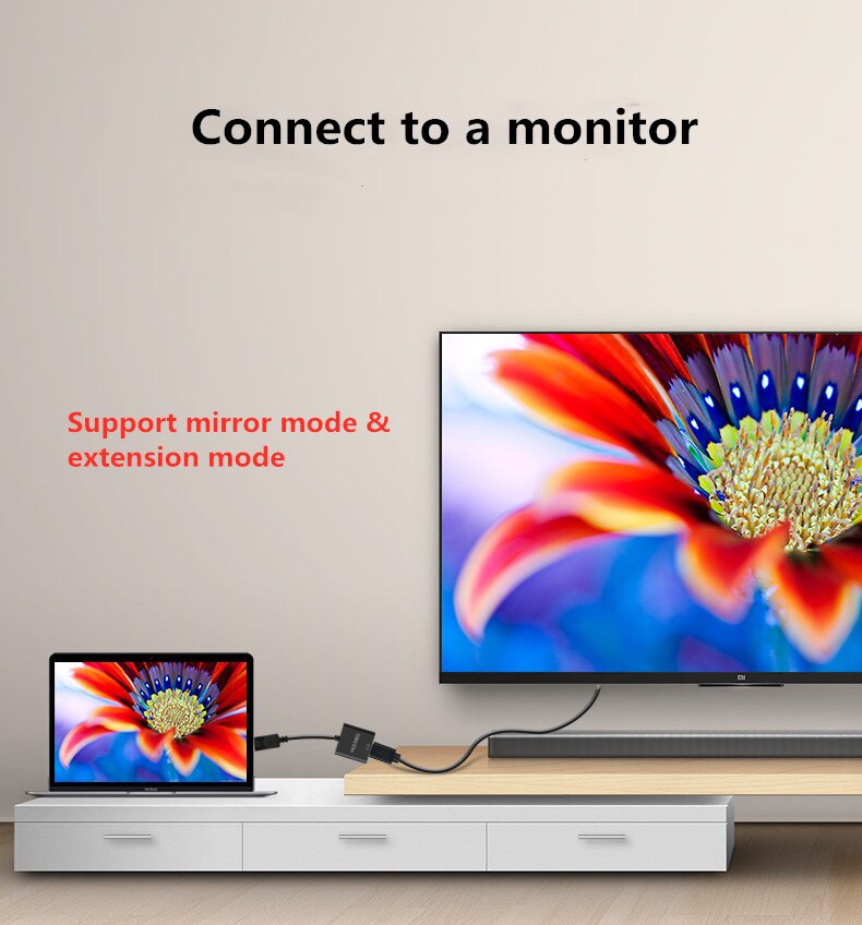 Cáp Chuyển Displayport To HDMI VEGGIEG - Hàng nhập khẩu