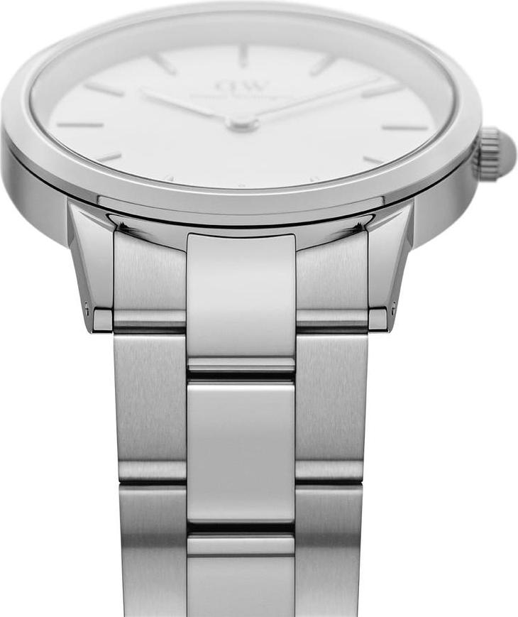 Đồng hồ nữ Daniel Wellington Iconic Link Silver White 28mm DW00100207
