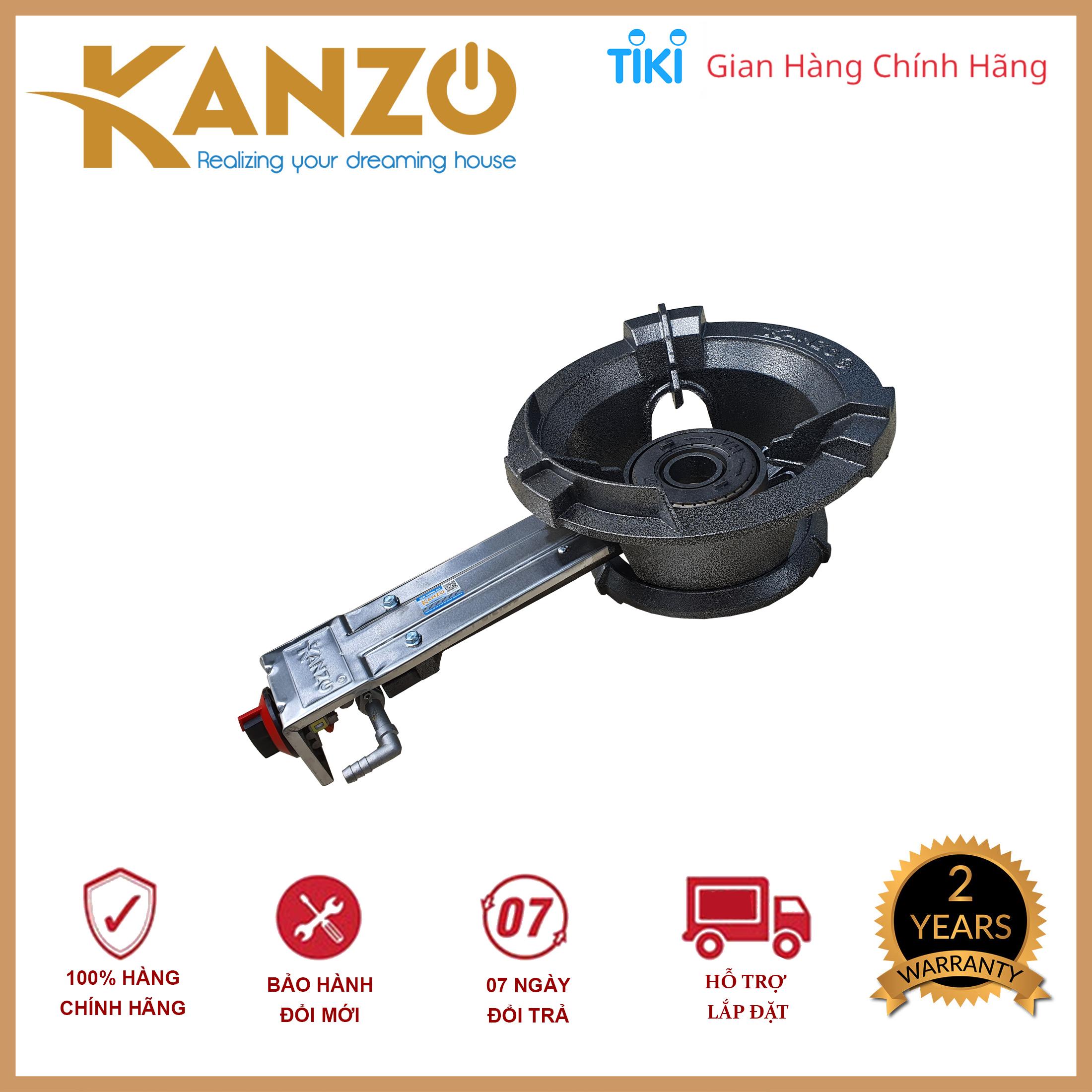 Bếp gas công nghiệp Kanzo KZ-CN10JP- Toàn thân đều được gang sơn cao cấp - Hàng chính hãng