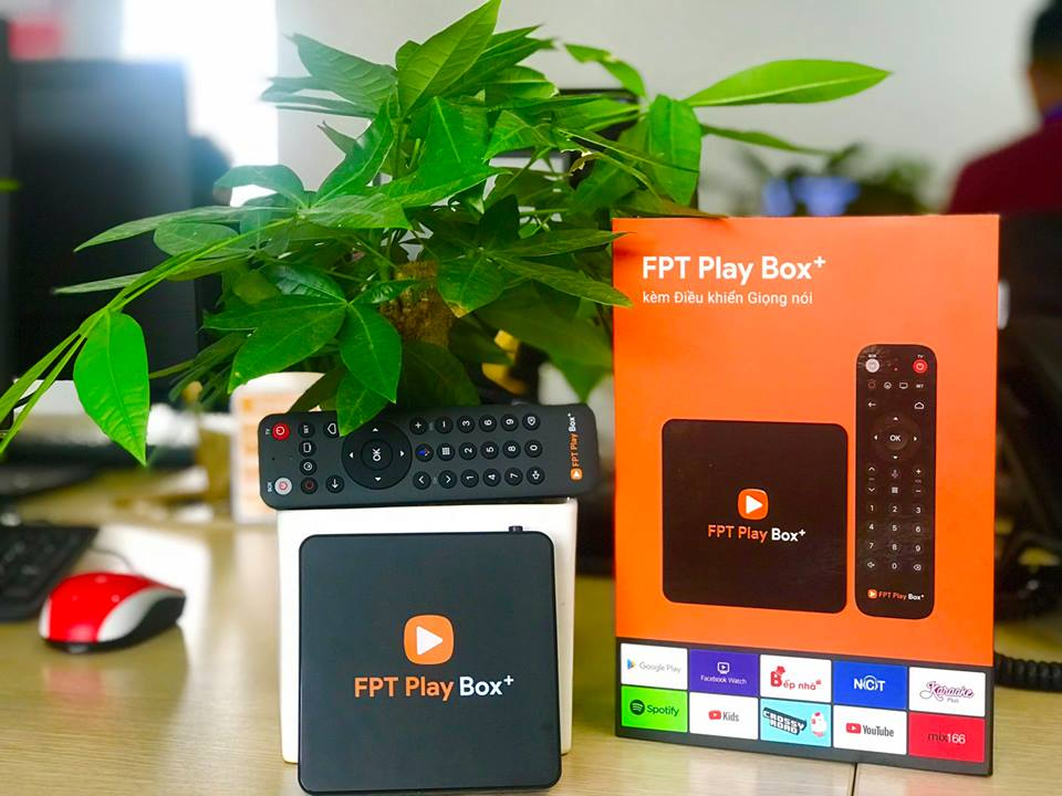 FPT PLAY BOX + 2019 CHÍNH HÃNG