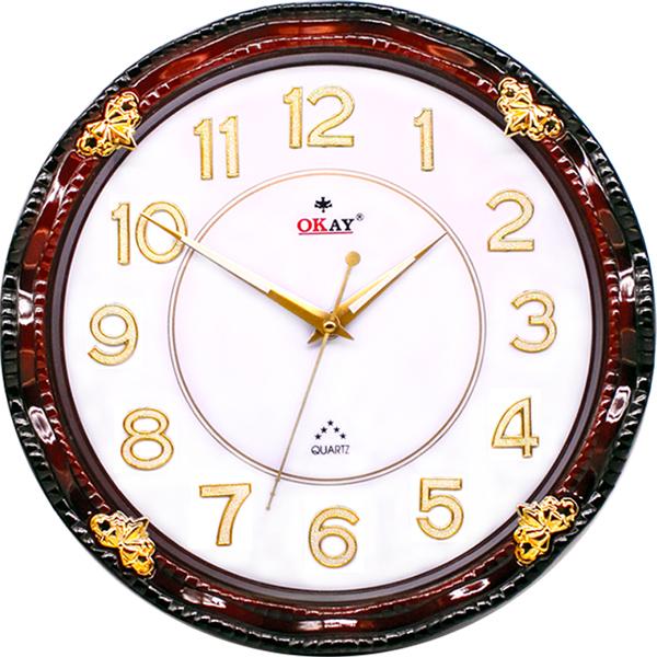 Đồng hồ treo tường thiết kế đẹp OKAY 193