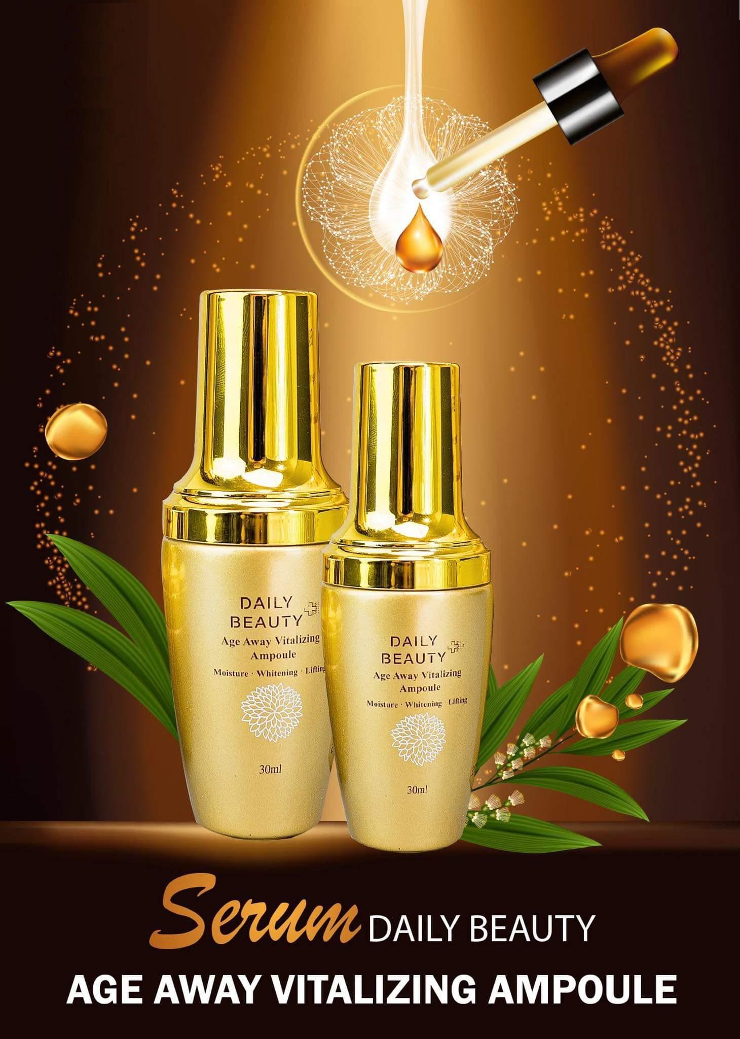Combo 5 sản phẩm Daily Beauty Re:Excell gồm Tẩy trang, Nước hoa hồng, Gel mụn, Serum, Kem dưỡng ban đêm