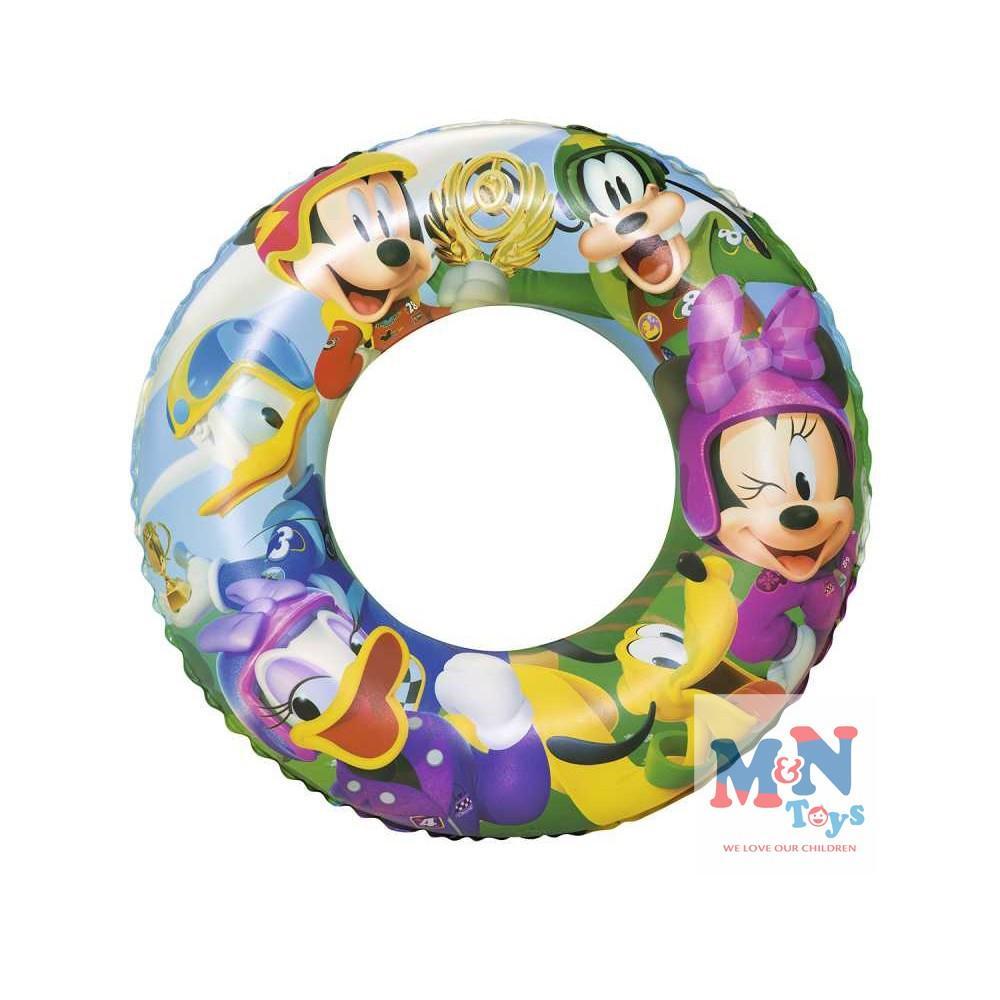phao bơi tròn Chính Hãng Hình Mickey Bestway 91004 Đường Kính 56cm