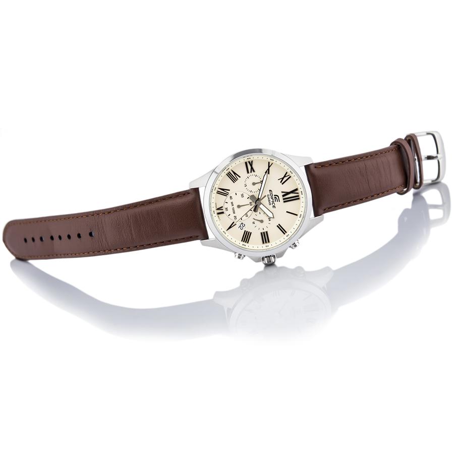 Đồng hồ nam dây da Casio Edifice chính hãng EFV-500L-7AVUDF