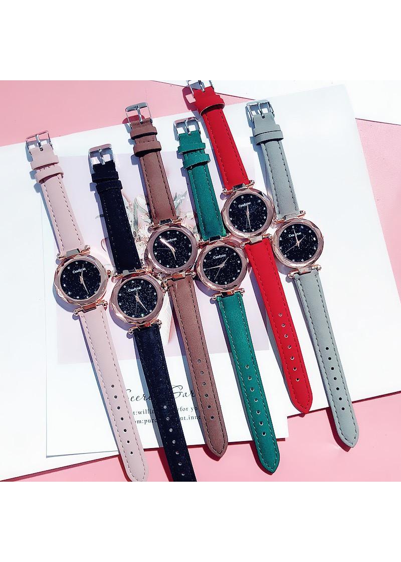 Đồng hồ dây da thời trang titoni đẹp rẻ DH21