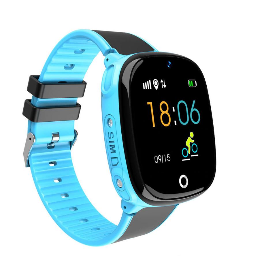 ĐỒng hồ định vị chống nước SmartKid Hw11 - màu xanh