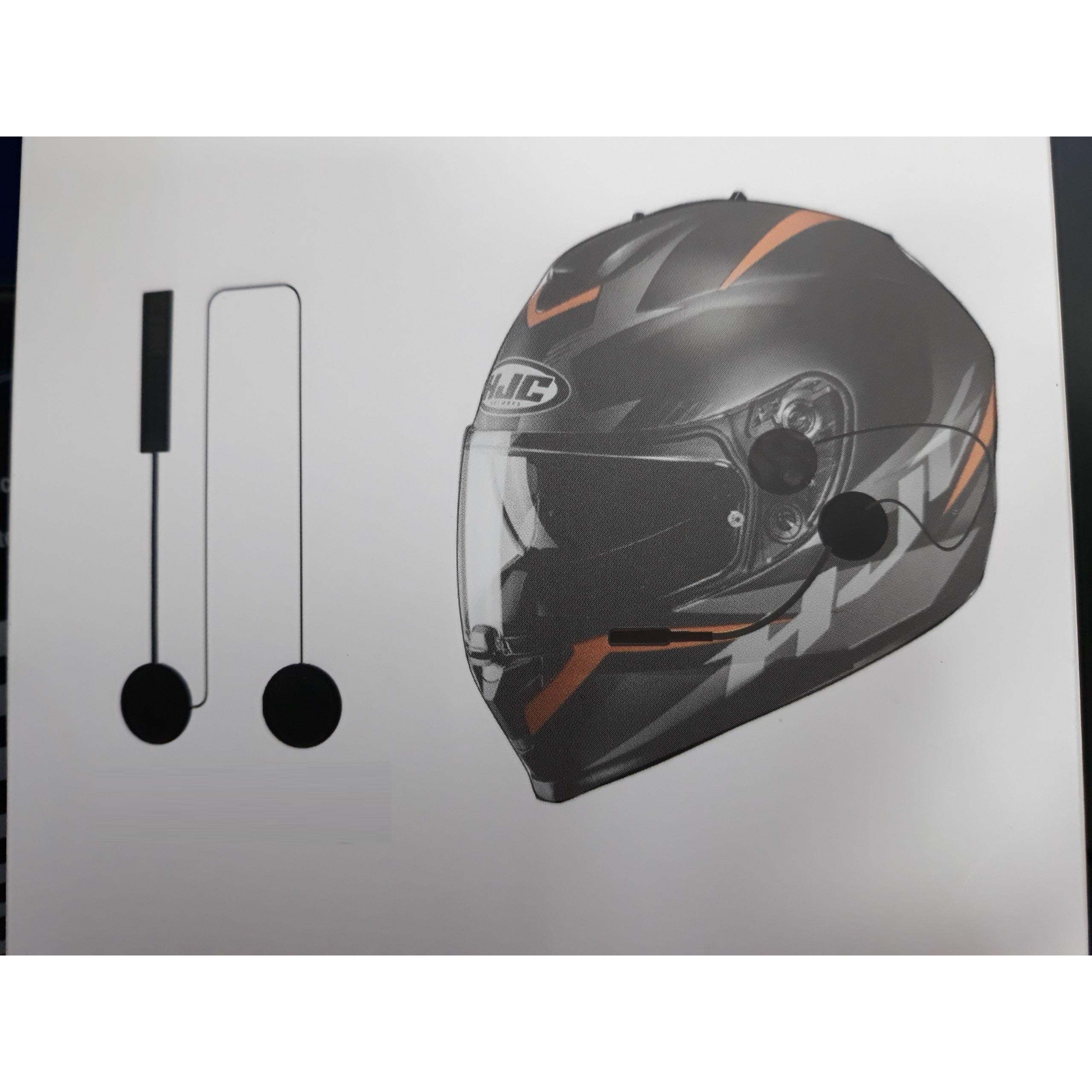 Tai nghe bluetooth movio dành cho các loại mũ bảo hiểm fullface và mũ 3/4