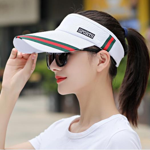 mũ lưỡi trai nửa đầu thể thao, mũ nón golf- tennis cao cấp
